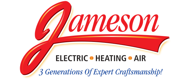 Jameson Electric, Heating and Air Logo